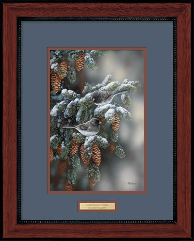 Winter Gems-Junco Art Collection