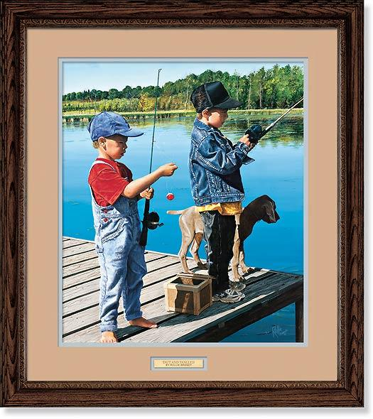 <i>Taut & Tangled&mdash;Kids Fishing</i>