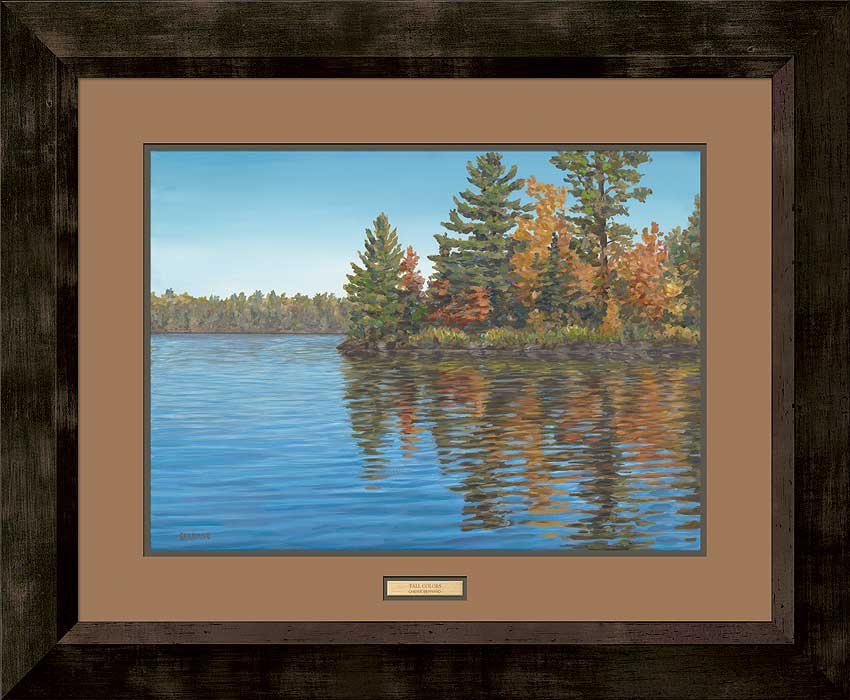 Fall Colors-Lake Art Collection