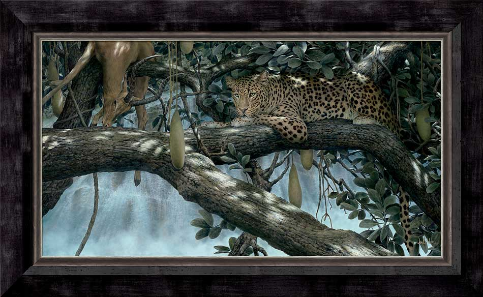 <i>Night Falls&mdash;Leopard</i>