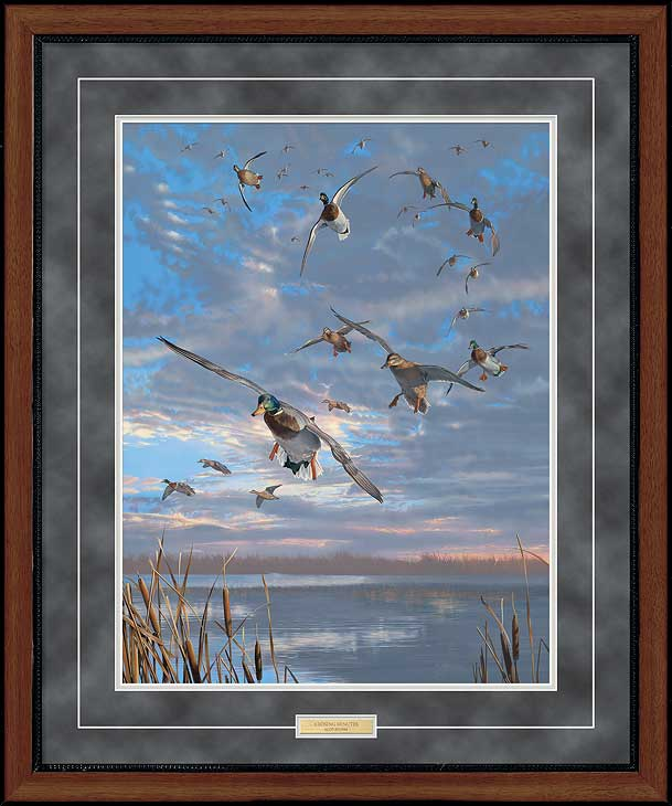 Closing Minutes-Mallards Art Collection
