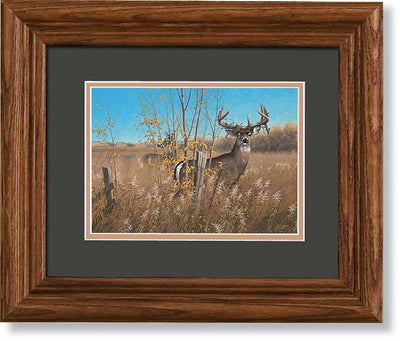 The Old Warrior-Deer Art Collection