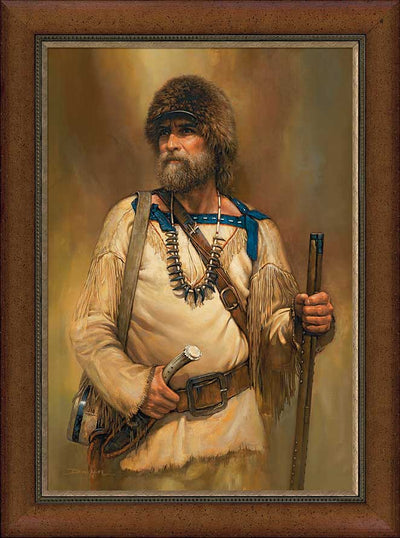 A Noble Time-Mountain Man Art Collection