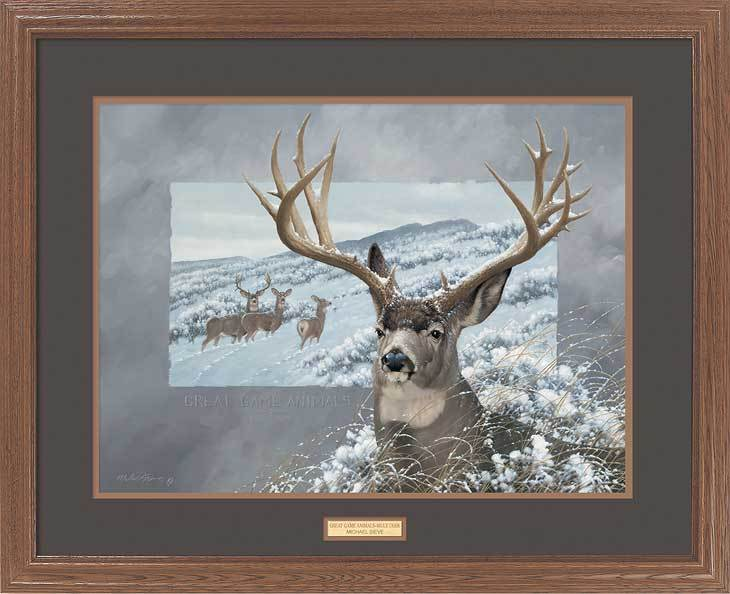 Great Game Animals—Mule Deer.