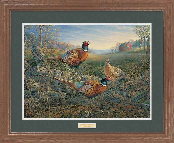 <i>Autumn Afternoon&mdash;Pheasants</i>
