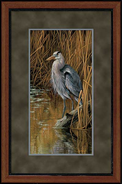 Blue Heron Art Collection