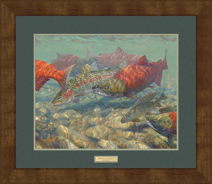 Defending the Redd-Salmon Art Collection