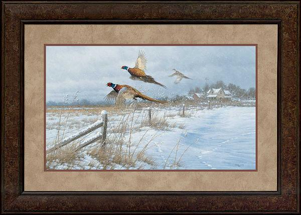 Snow Birds-Pheasants Art Collection
