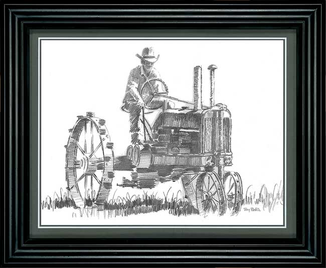 Tractor Study Art Collection