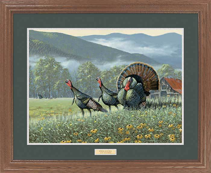 <i>Spring Rounds&mdash;Turkeys</i>