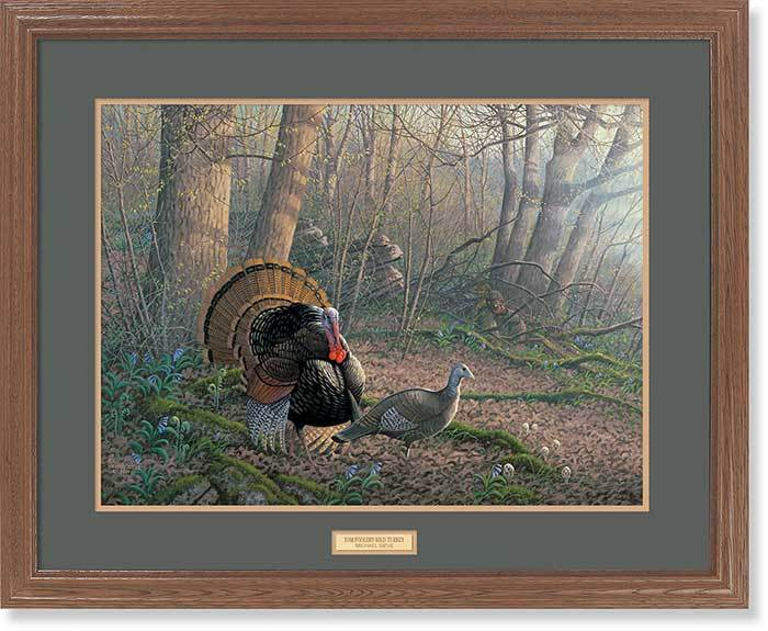 <I>Tom Foolery&mdash;turkeys By Sieve</i> Gna Premium Framed Print<Br/>25H X 31W Art Collection