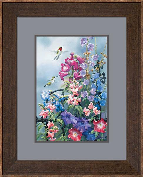 <I>Victorian Seasons&mdash;summer</i> Framed Artist Proof Print