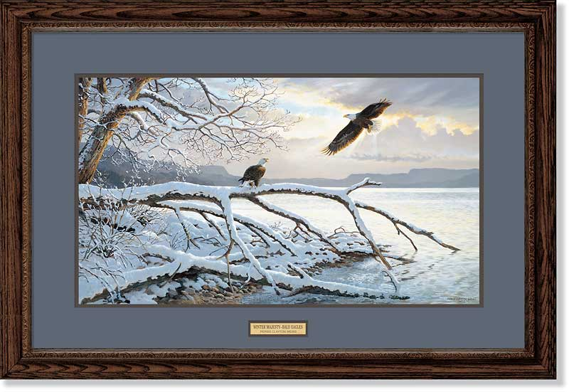 Winter Majesty-Eagles Art Collection
