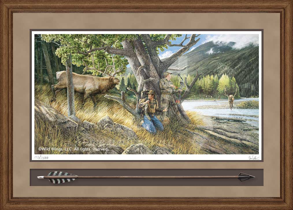 Unexpected One-Elk Limited Edition Print