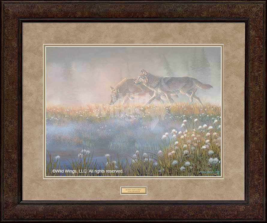 <i>In the Dawn Mist&mdash;Wolves</i>