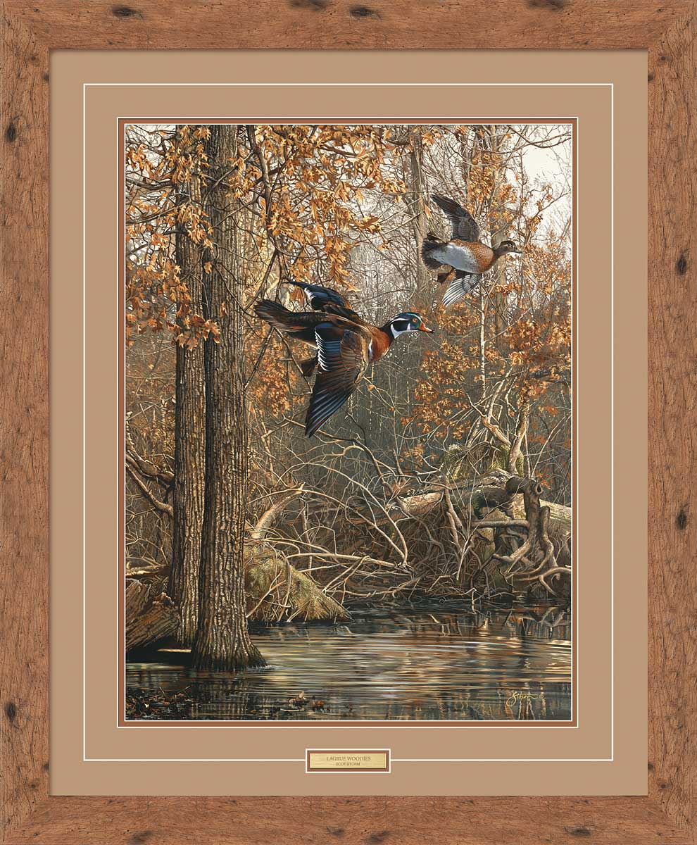 LaGrue Woodies-Wood Ducks Art Collection