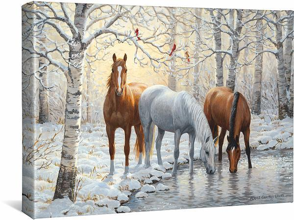 <I>Frosty Sunshine</i> Gallery Wrapped Canvas
