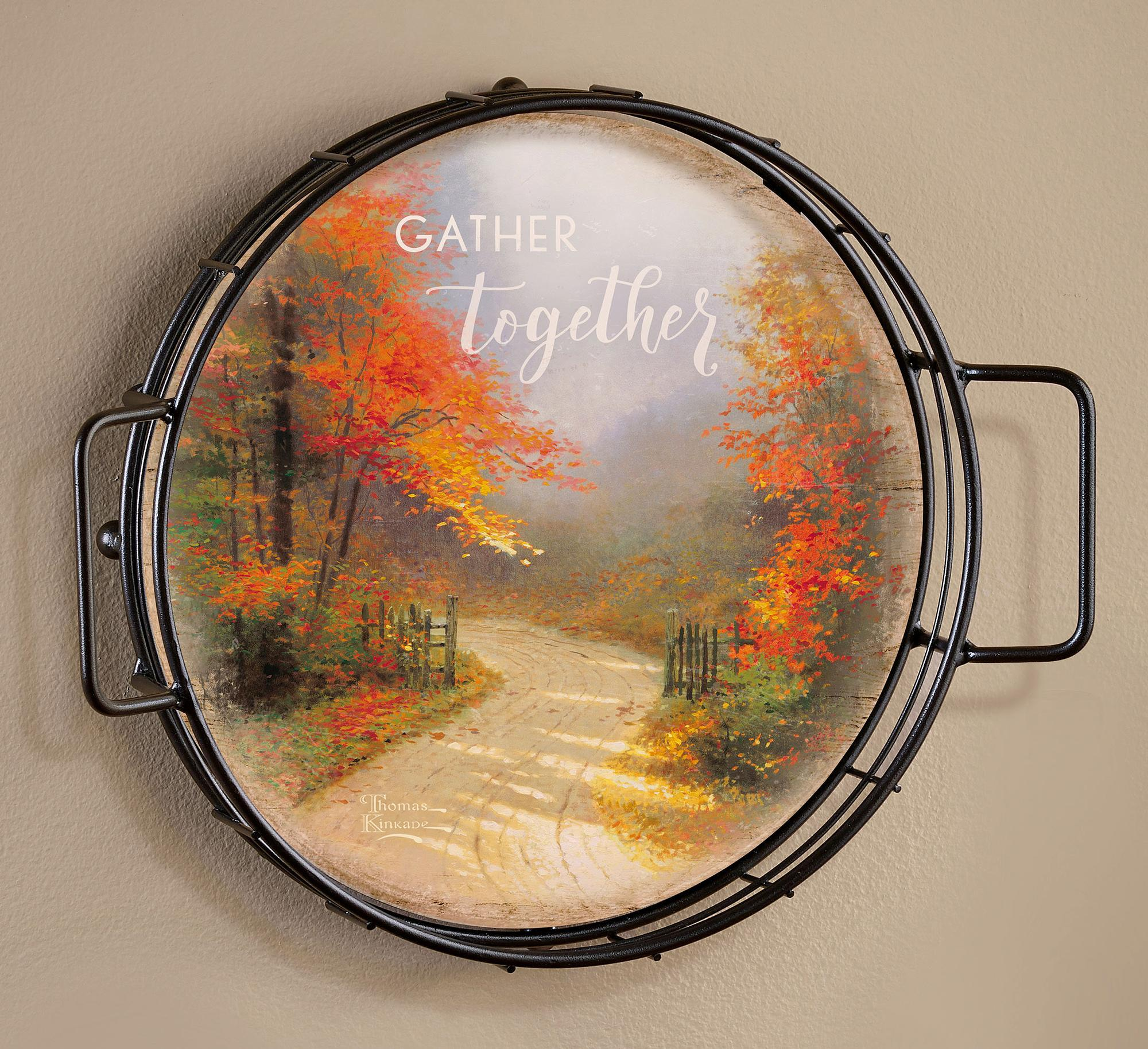 Gather Together—Autumn Lane Wall Decor.