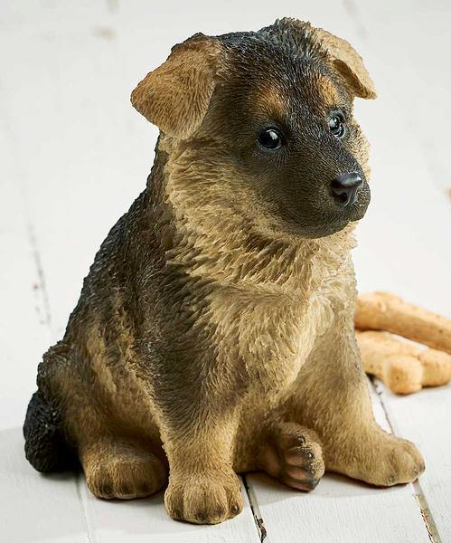 German Shepherd Puppy Sculpture