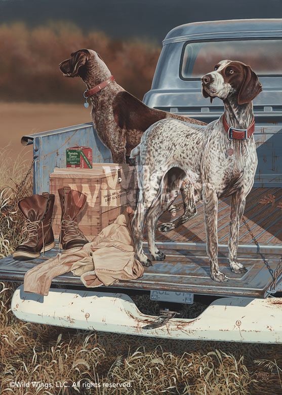 Opening Day-German Shorthair Pointers Art Collection