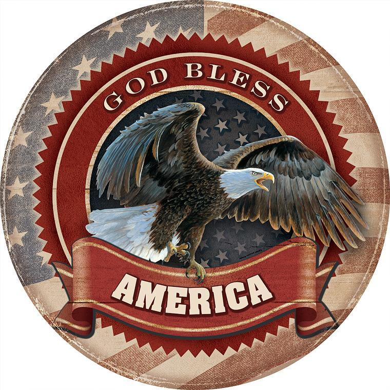 God Bless America—Bald Eagle.