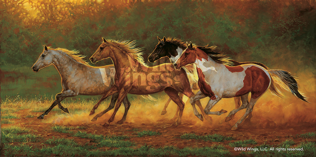 Gold Dust—Horses.