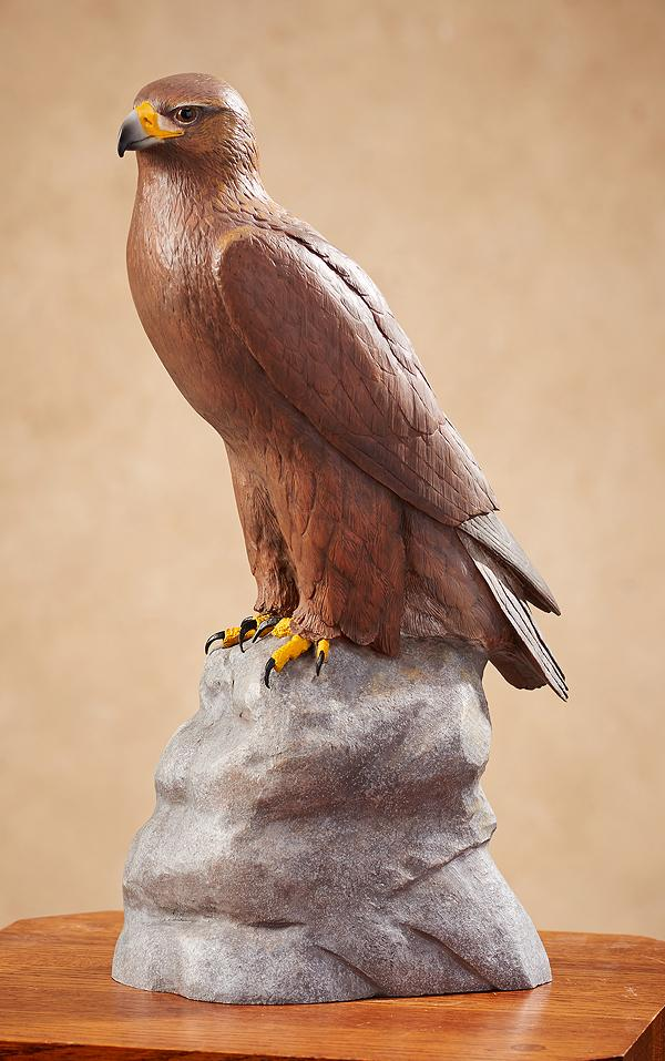 Golden Eagle Sculpture