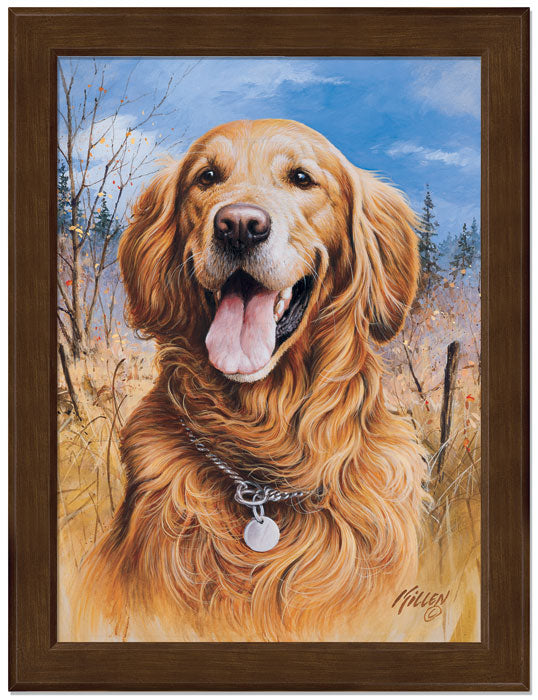 That's My Dog, Too!-Golden Retriever Art Collection