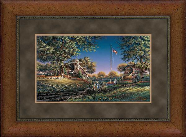Good Morning America Framed Encore Print