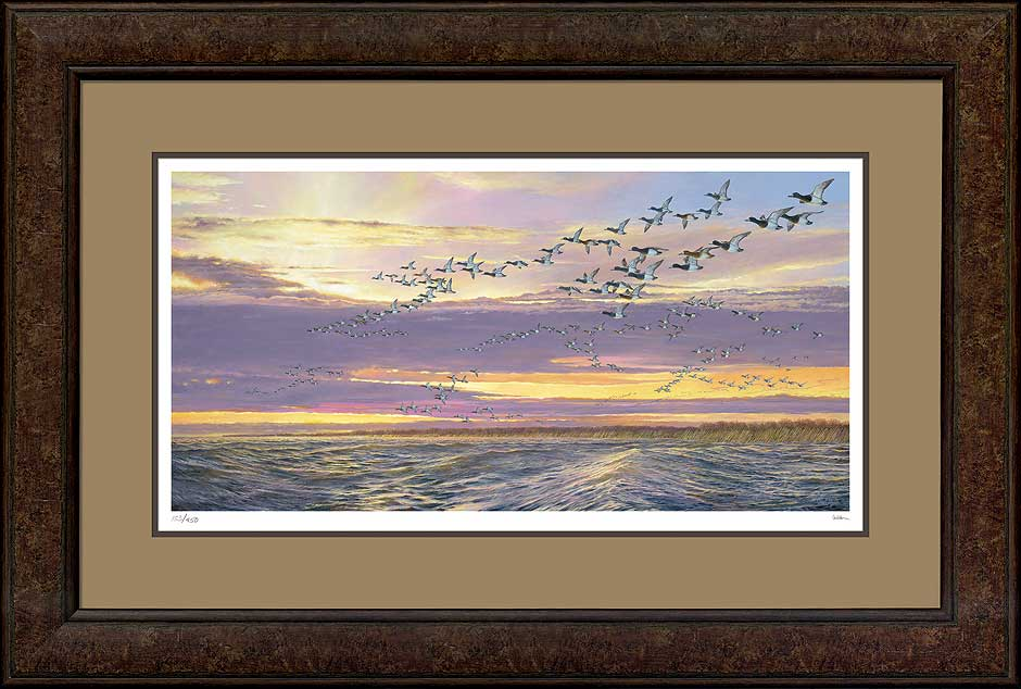Grand Passage Canvasbacks Art Collection
