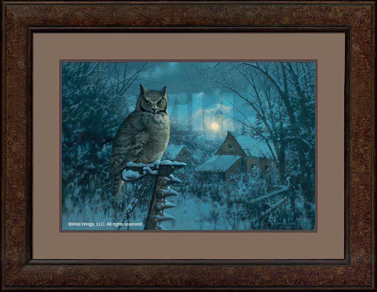 Tiger of the Night-Owl Art Collection