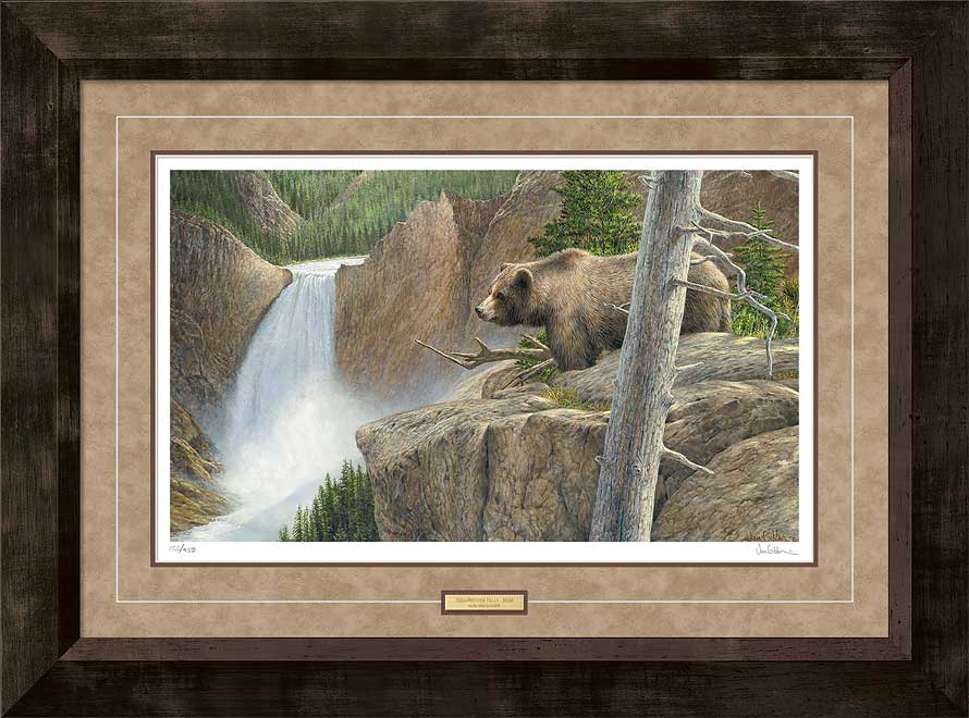 Vantage Point-Grizzly Bear Art Collection