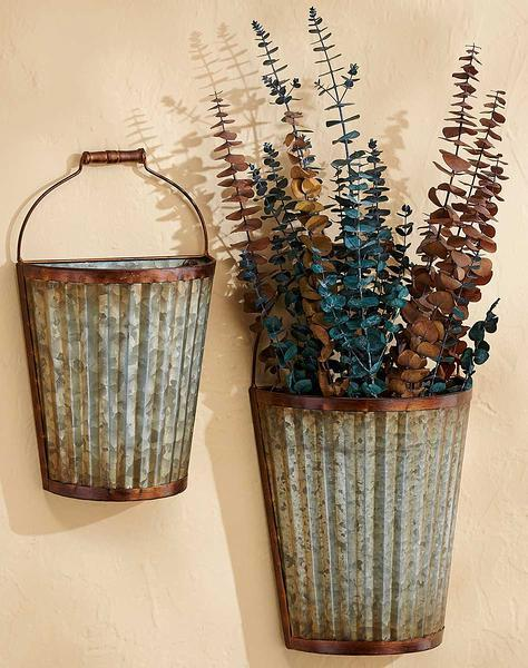 Rustic Wall Baskets