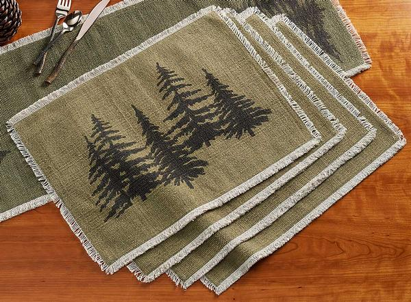 Pine Grove Placemats