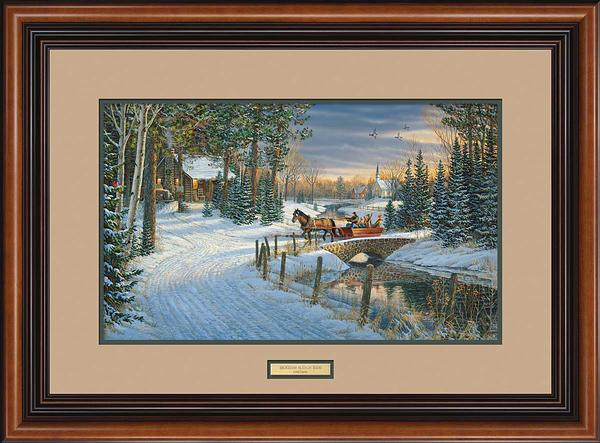 Holiday Sleigh Ride Art Collection