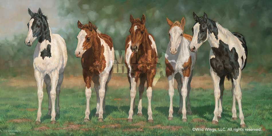 <i>Pint-sized Paints&mdash;Horses</i>