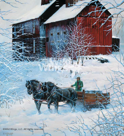 Winter Delivery—Horses.