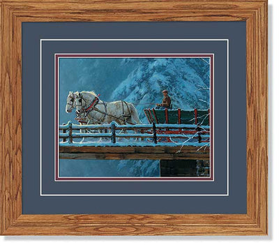 Santiam Crossing-Horses Art Collection