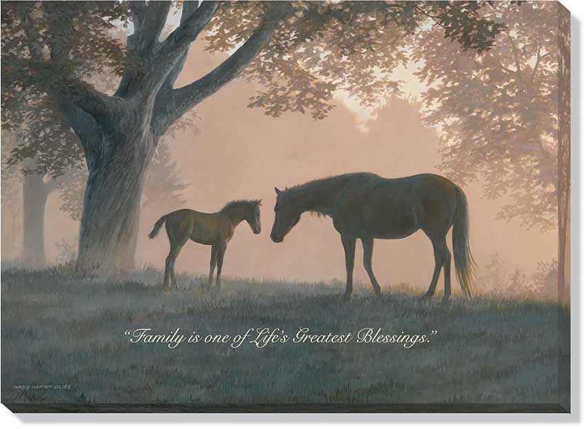 <i>Dawn's First Light&mdash;Horses</i>