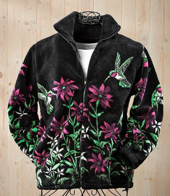 Hummingbird Fleece Jacket