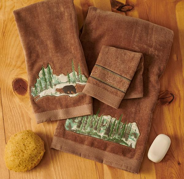 Pine Forest Towels