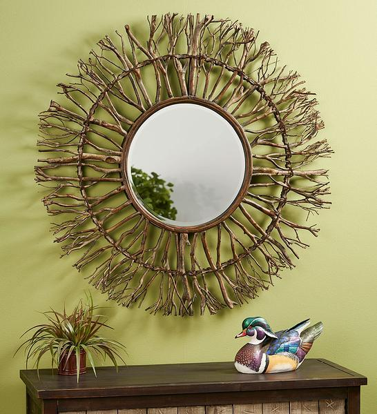 Gray Birch Mirror