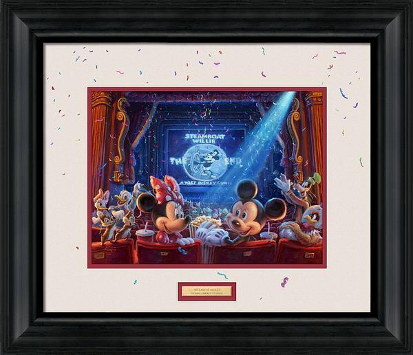 <I>90 Years Of Mickey</i> Framed Print