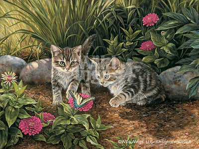 Double Trouble-Kittens Art Collection