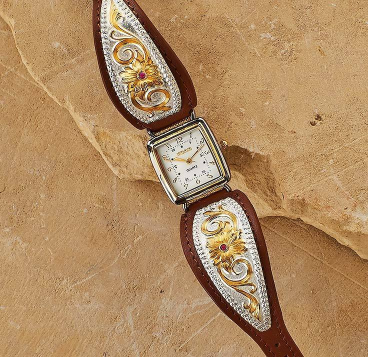 Western Filigree Leather