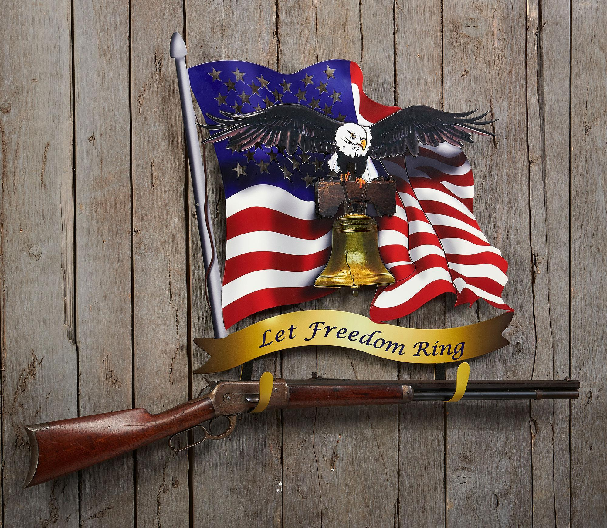 Let Freedom Ring Gun Rack