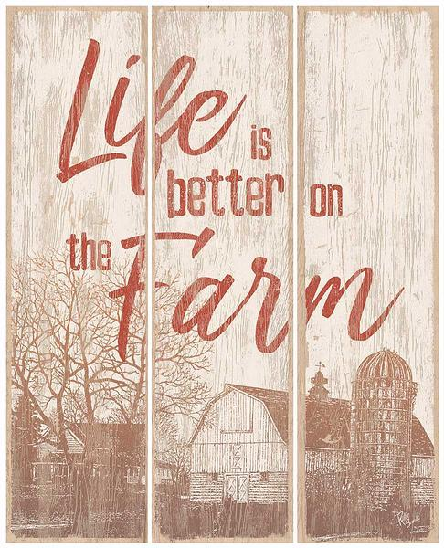 Life is Better on the Farm—Barn.