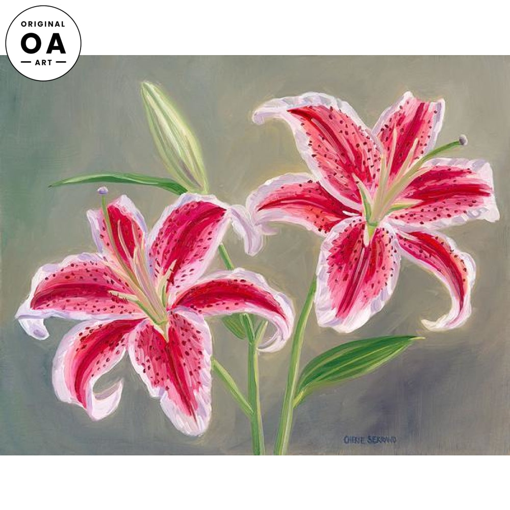 <i>Lilies</i> Original Artwork