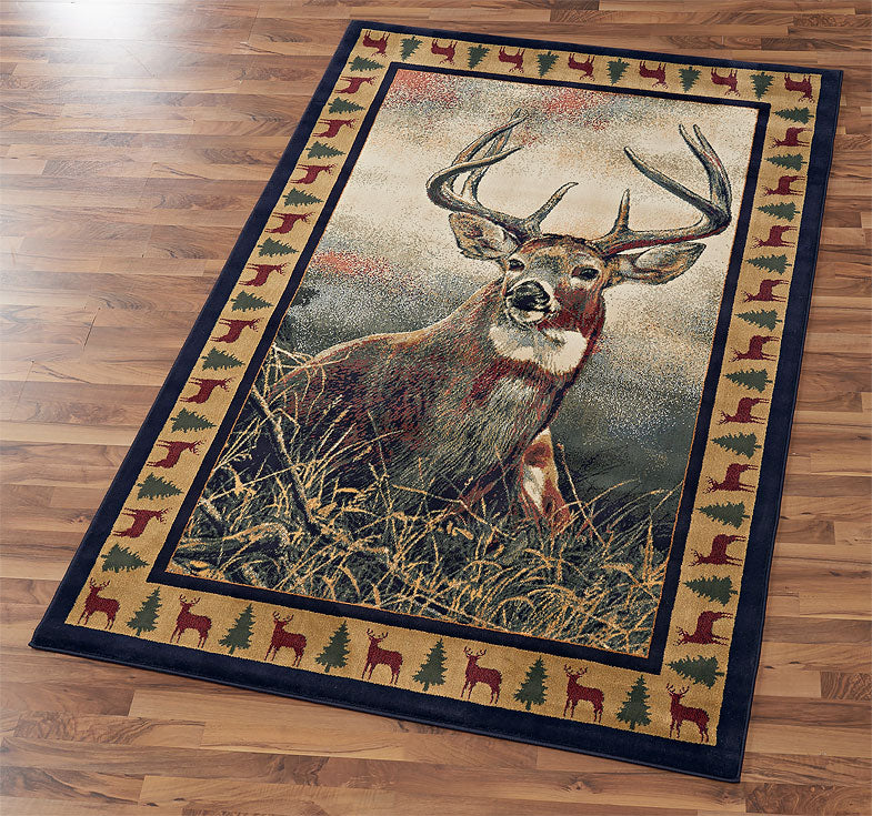 Majestic Whitetail Area Rug Collection
