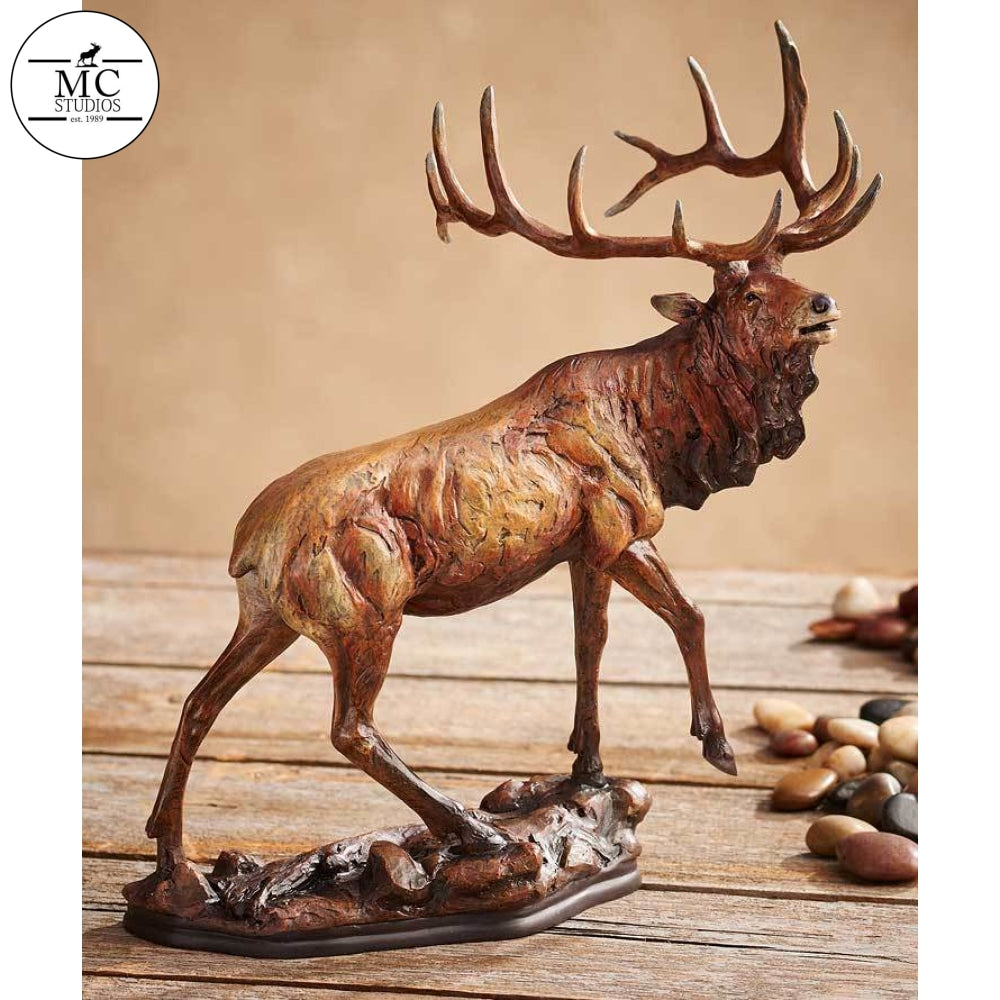 Majesty—elk By Mill Creek Studios Sculpture
